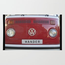 Wander van. Summer dreams. Red Rug