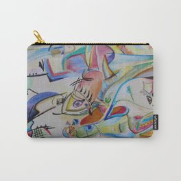 inspiration from Kandinsky . illustration . Carry-All Pouch