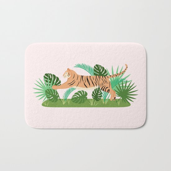 Jungle Cat Bath Mat