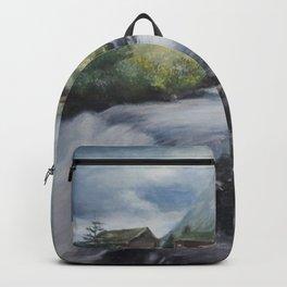 Mountain landscape Backpack