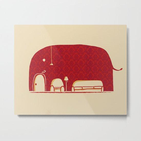 Elephanticus Roomious Metal Print