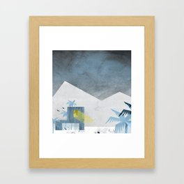 homecomers of the arctic tree line Framed Art Print