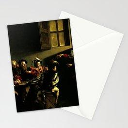 Michelangelo Merisi da Caravaggio - The Calling of St Matthew Stationery Cards