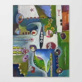 Suburban Maze Canvas Print