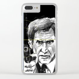 Patriot Games Clear iPhone Case