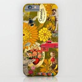 Orange Mayhem iPhone Case