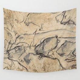 Aurignacian Art Wall Tapestry