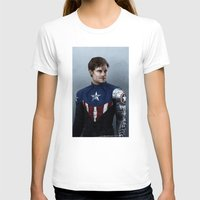 bucky barnes T-shirts featuring Bucky by E Cairns Art