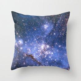 Small Magellanic Cloud Throw Pillow
