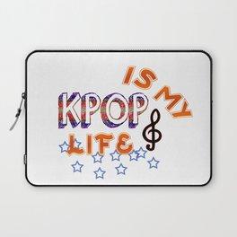 Kpop Is My Life Laptop Sleeve