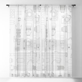 Photographer Kit V2 Sheer Curtain