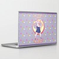 sailormoon Laptop & iPad Skins featuring Sailor Says by hollarity