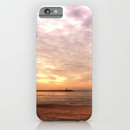 Sunset on the Harbor iPhone Case