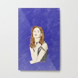 Buffy the Vampire Slayer - Watercolor Metal Print