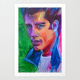 Grease Art Print