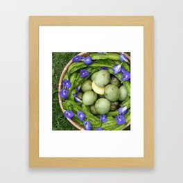 Love Comes In Circles Framed Art Print