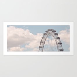 wheely small plane... Art Print