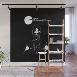 ▴ wednesday ▴ Wall Mural
