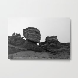 Charyn Canyon in Kazakhstan  Metal Print