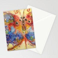Astrazioni su ali di farfalla Stationery Cards
