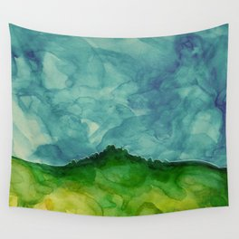 Pastures of Waimea Revisited Wall Tapestry