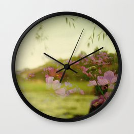 the air smelled like lightning Wall Clock