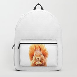 Squirrel Portrait Backpack