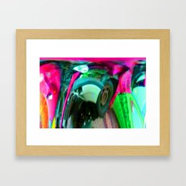 After the crash ... Framed Art Print