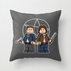 The Brickchesters Throw Pillow