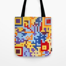 Number Three Multicolour Series  Tote Bag