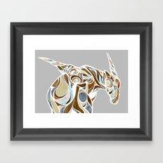 elands (color) Framed Art Print