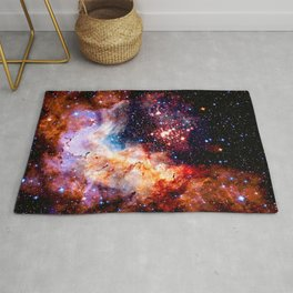 Cosmic Connection 2 galaxy space nebula stars universe Rug