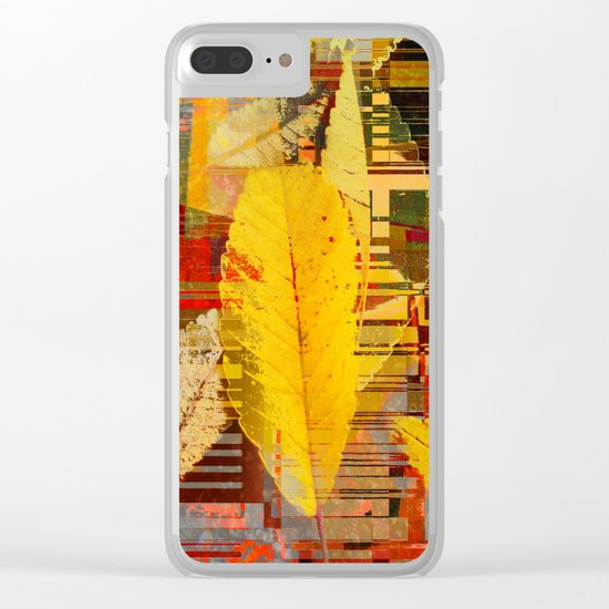 fallin' into digital Clear iPhone Case