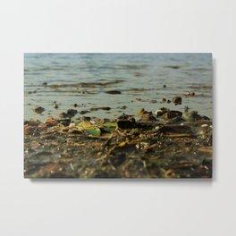 Muddy water Metal Print