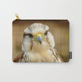 Gyrfalcon Falcon Closeup Carry-All Pouch
