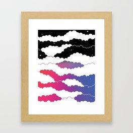 Midnight Glow Framed Art Print