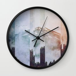Fractions A38 Wall Clock