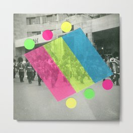 Fluo Marching Band Metal Print
