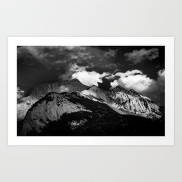 Light Within The Mountain Art Print