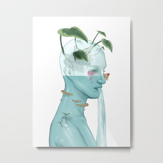 Simple Thoughts Metal Print