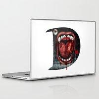 dracula Laptop & iPad Skins featuring Dracula by Jhonatan Medina