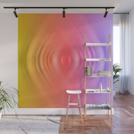 rainbow ripples of life Wall Mural