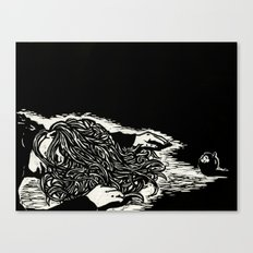 Poisoned Slumber Canvas Print