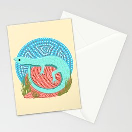 Lazing Lizard Stationery Cards