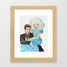 Mr. Brightside and Miss Atomic Bomb Framed Art Print
