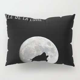 Daughter of the moon wolf version Pillow Sham