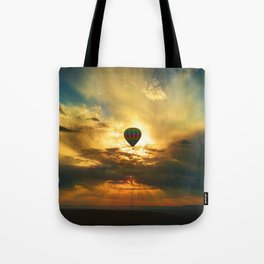 Balloon in the Sky Tote Bag