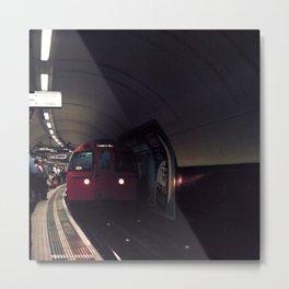 London Tube Metal Print