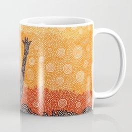 Giraffe In The Bush Coffee Mug