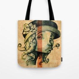 Lady Tentacles Tote Bag